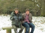Toby and Dad on Pole Hill
